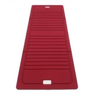 Tapis pliable 170X70cm rouge