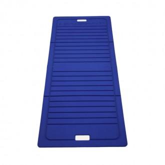 Tapis pliable 140X60cm bleu