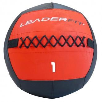 Soft medecine ball 1 kg - Rouge et Noir