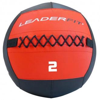 Soft medecine ball 2 kg - Rouge et Noir