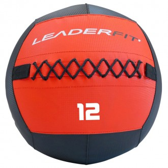 Soft medecine ball 12 kg - Rouge et Noir