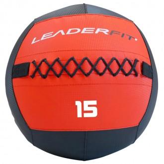 Soft medecine ball 15 kg - Rouge et Noir