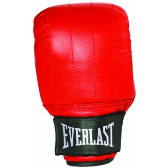 Leather Pro Bag Gloves Boston (Red) -...