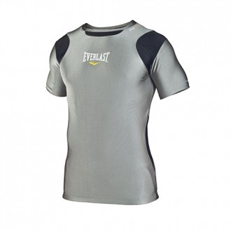 Mens S/Sleeve Rash Guard Contrast...