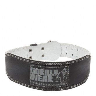 4 Inch Padded Leather Belt - Gorilla...