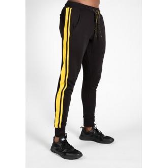 Banks Pants Black/Yellow - Gorilla Wear