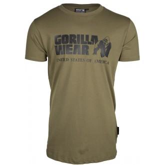 Classic T-shirt Army Green - Gorilla...