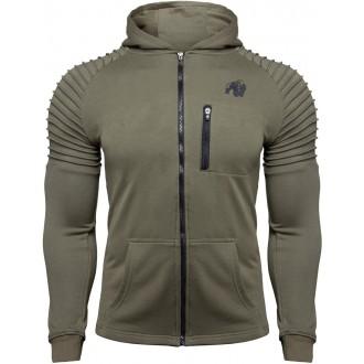 Delta Hoodie Army Green - Gorilla Wear