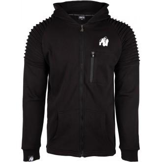 Delta Hoodie Black - Gorilla Wear