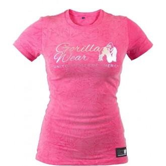 Camden T-shirt (Pink) - Gorilla Wear