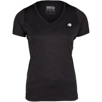 Elmira V-Neck T-Shirt Black - Gorilla...