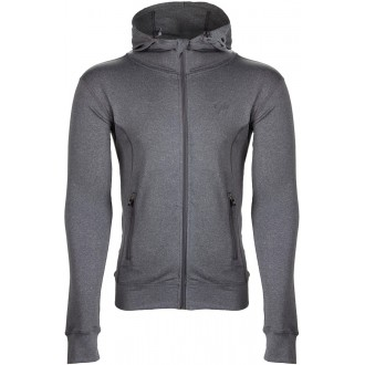 Glendo Jacket Light Gray - Gorilla Wear