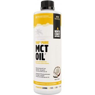 100% Pure MCT Oil (473ml) - North Coast Naturals