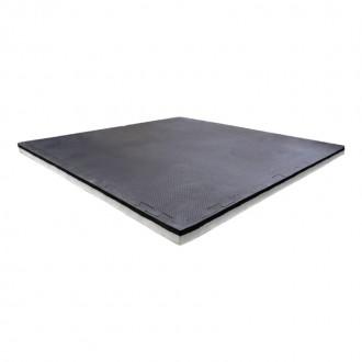 Dalle Tatami Puzzle 40mm Noir/Gris