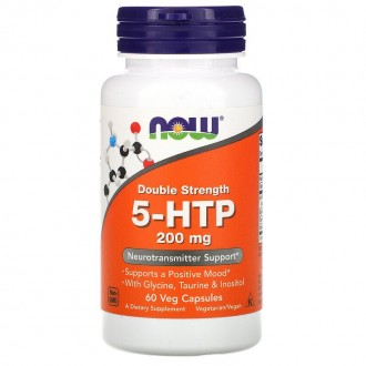 5-HTP 200mg - Now Foods