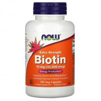 Biotin 10000µg Extra Strength (120) -...