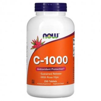 C-1000 Sustained Release (250 Caps) -...