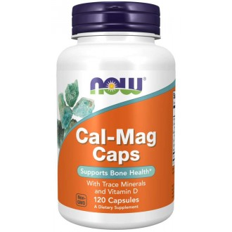 Cal-Mag Caps (120) - Now Foods