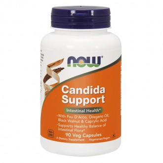 Candida Support (90) - Now Foods