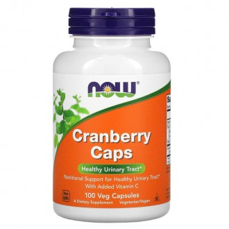Cranberry Caps 700mg (100) - Now Foods