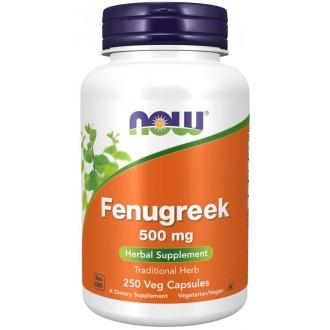 Fenugreek 500 mg (250 vcaps) - Now Foods