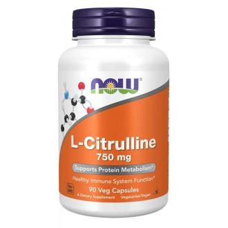 L-Citrulline 750mg (90) - Now Foods
