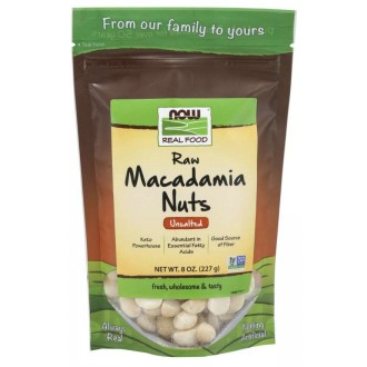 Macadamia Nuts (227g) - Now Foods
