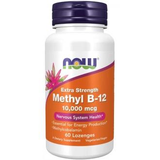 Methyl B-12 10000mcg (60) - Now Foods