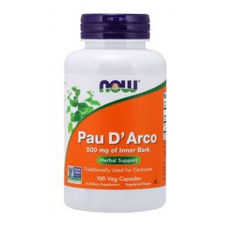 Pau D´arco 500mg (100 Caps) - Now Foods