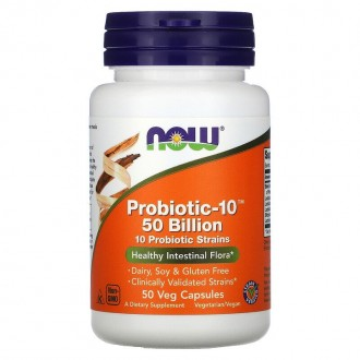 Probiotic-10™ 50 Billion (50) - Now Foods