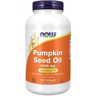 Pumpkin Seed Oil 1000 mg (200 softgels) - Now Foods
