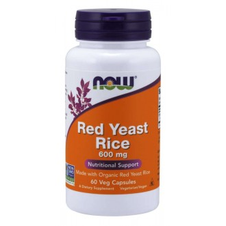 Red Yeast Rice 600mg (60) - Now Foods
