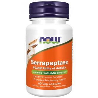Serrapeptase (60 vcaps) - Now Foods