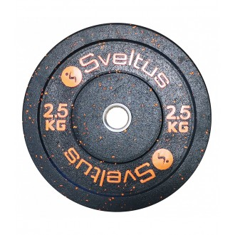 Disque olympique bumper 2,5 kg x1 -...