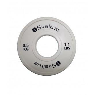 Mini disque olympique 0,5 kg x1 -...