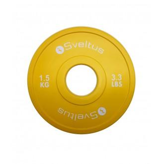 Mini disque olympique 1,5 kg x1 -...