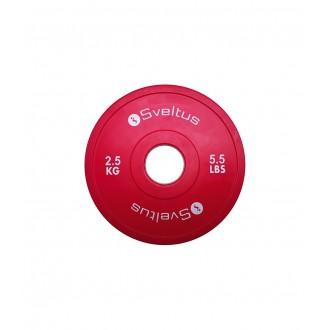 Mini disque olympique 2,5 kg x1 -...