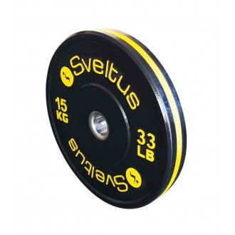 Disque olympique training 15 kg x1 -...