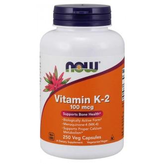 Vitamin K-2 100mcg (250) - Now Foods