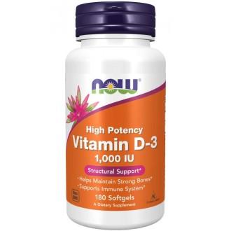 Vitamin D3 1000IU - Now Foods