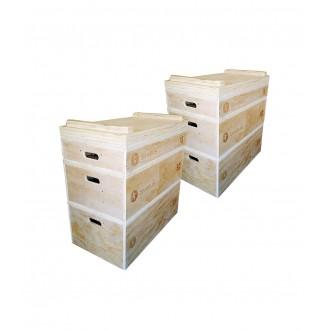 Set de jerk blocs en bois - Sveltus
