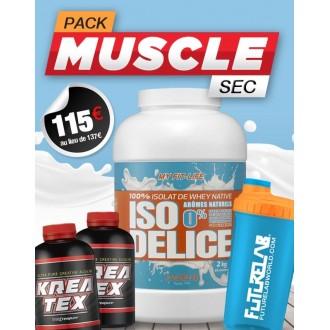 Pack prise de muscle sec - Futurelab