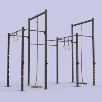 Cage outdoor 8 postes