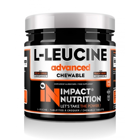 L-Leucine Advanced Chewable | Impact Nutrition