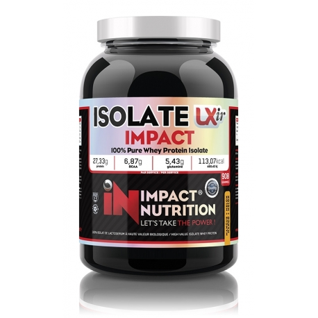 Isolate Impact LXIR 908g | Impact Nutrition