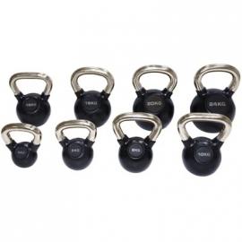 Série 14 kettlebells noir