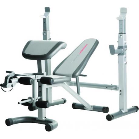 Banc De Musculation Weider Pro 290 Pas Cher Nutriwellness