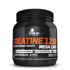 Creatine Mega Caps 400 caps | Olimp Sport Nutrition