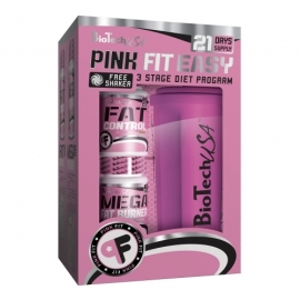 Pink Fit Easy Kit | Biotech USA
