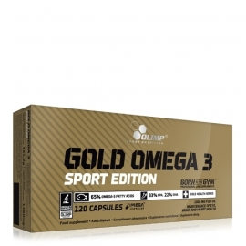 Gold Omega-3 Sport Edition 120 caps | Olimp Sport Nutrition